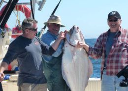 Ucluelet Fishing 75lb-halibut-wild-pacific-charters-ucluelet-bc