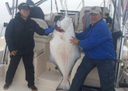 hanging-halibut-wild-pacific-charters-ucluelet-bc